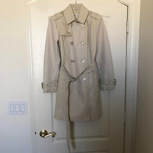 Kenneth Cole New York double breasted trench coat